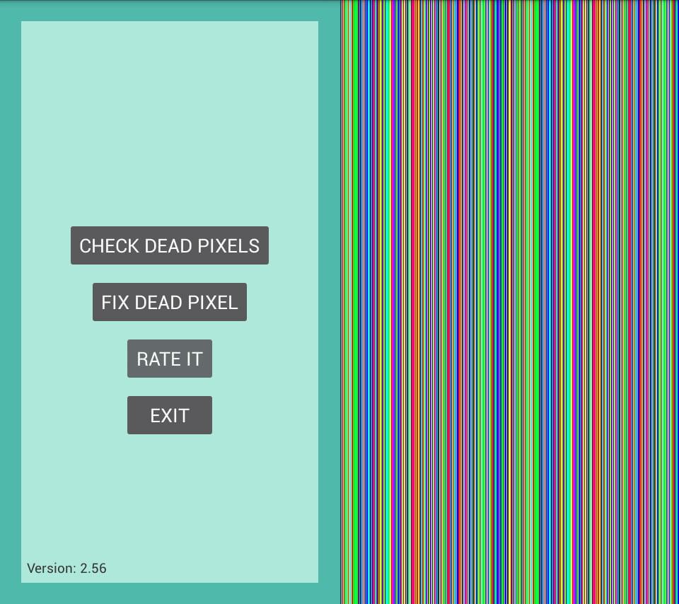Ekrandaki ölü bir piksel nasıl düzeltilir?