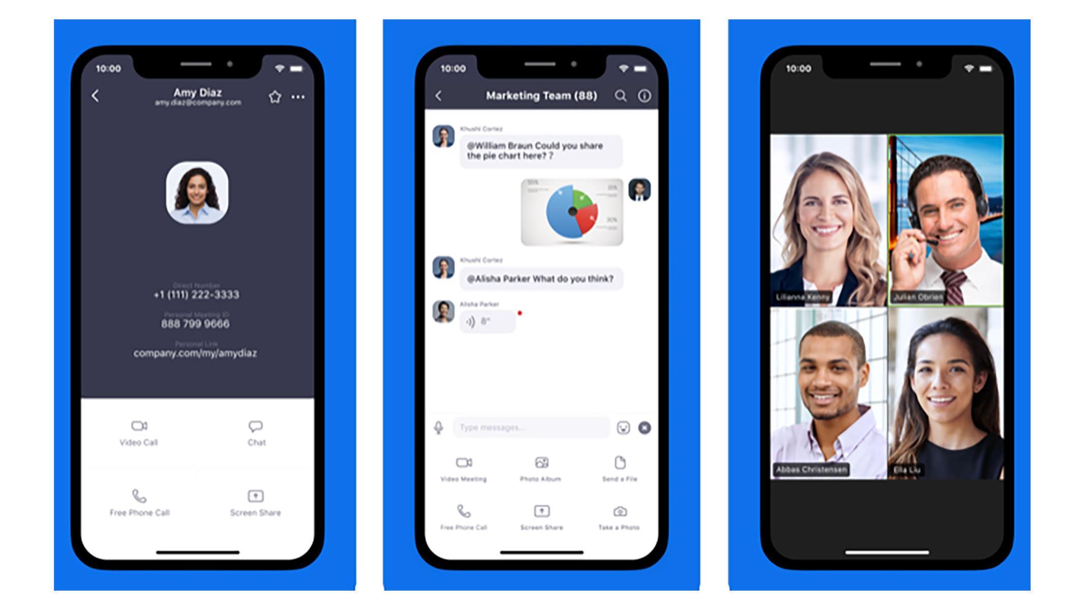 Zoom iOS kullanıcı bilgilerini Facebook göndermeyi bıraktı