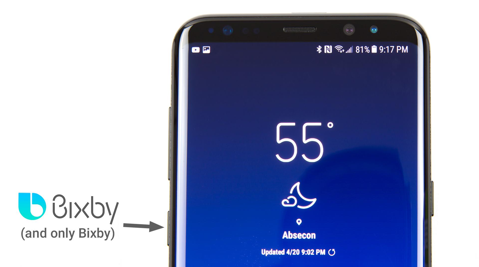 Samsung Bixby akıllı asistan