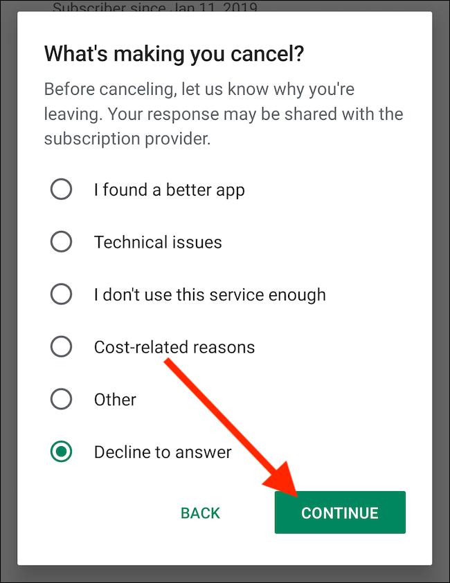 Android'de Google Play Store Aboneliğini İptal Etme