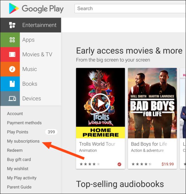 Google Play Store Aboneliğini Web'den İptal Etme