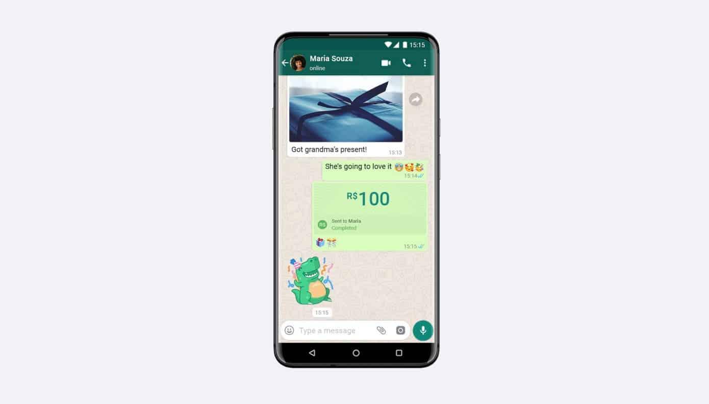 <a href='/whatsapp/'>WhatsApp</a> ödeme aracı ilk olarak Brezilya'da aktif olduğu söylendi.