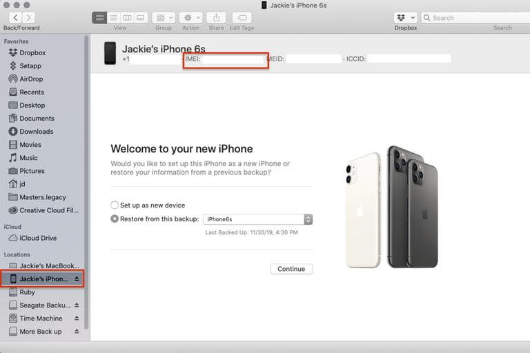 Apple hesabınızdan iPhone'unuzun IMEI numarasını bulma