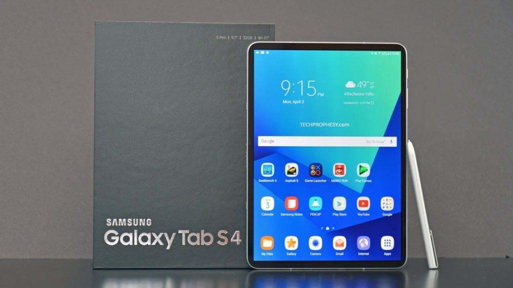 <a href='/samsung/'>Samsung</a> <a href='/galaxy/'>Galaxy</a> Tab S4 teknik özellikleri