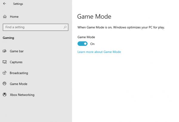 Windows 10'da Oyun modu nasıl etkinleştirilir