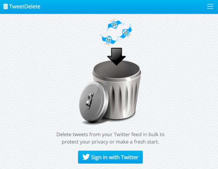 TweetDelete ile Tweetleri silin