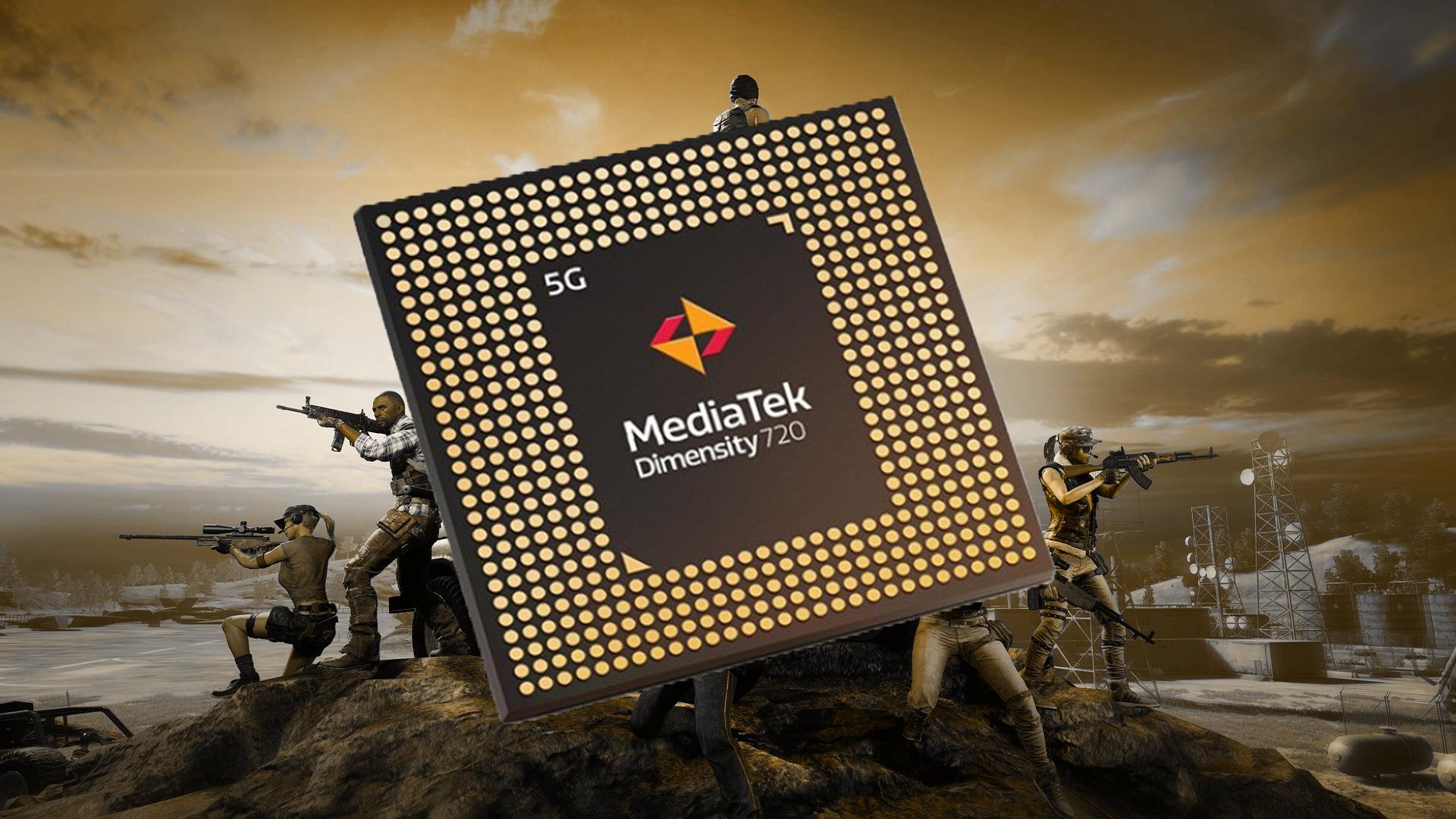 MediaTek, 5G'li <a href='/akilli-telefon/'>akıllı telefon</a> işlemcisi <a href='/dimensity/'>Dimensity</a> 720 piyasaya sürdü.
