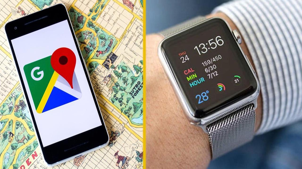 Apple Watch, 3 Yıl Aradan Sonra Google Haritalara sahip olacağı açıklandı.