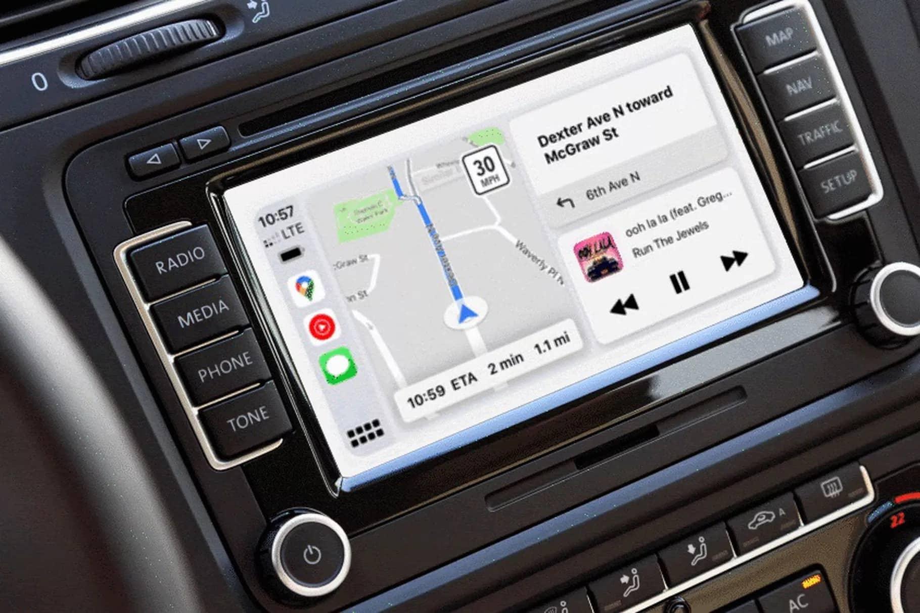 Google, Apple'ın CarPlay'i için harita uygulamasını güncelledi.