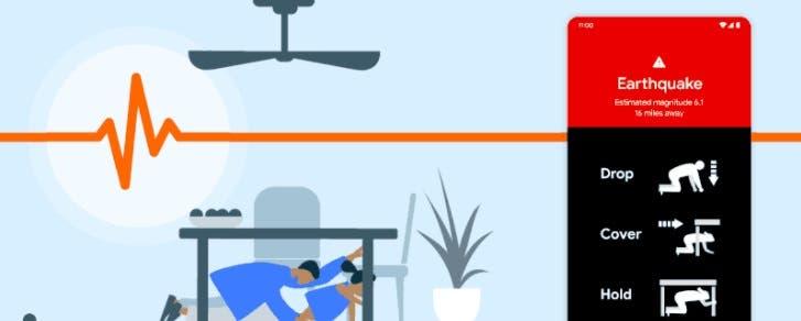 Android sistemine dayalı deprem uyarı ile, depremi takip edebileceksiniz.