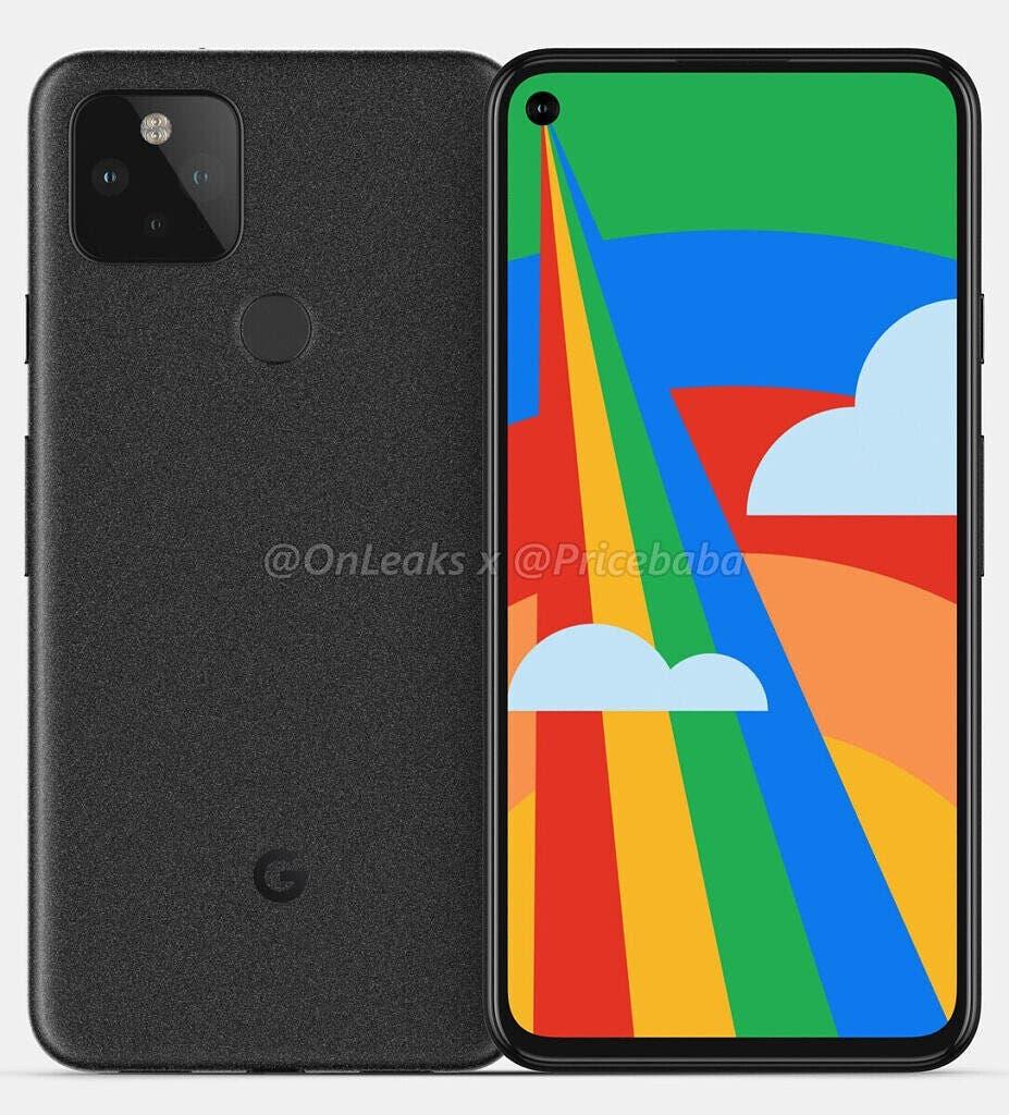 Google Pixel 5'in Tasarımı ve Teknik Özellikleri Sızdırıldı