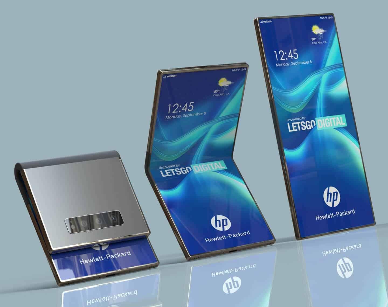 Bilgisayar Üreticisi HP, <a href='/katlanabilir/'>Katlanabilir</a> Telefon Patentine Başvurdu