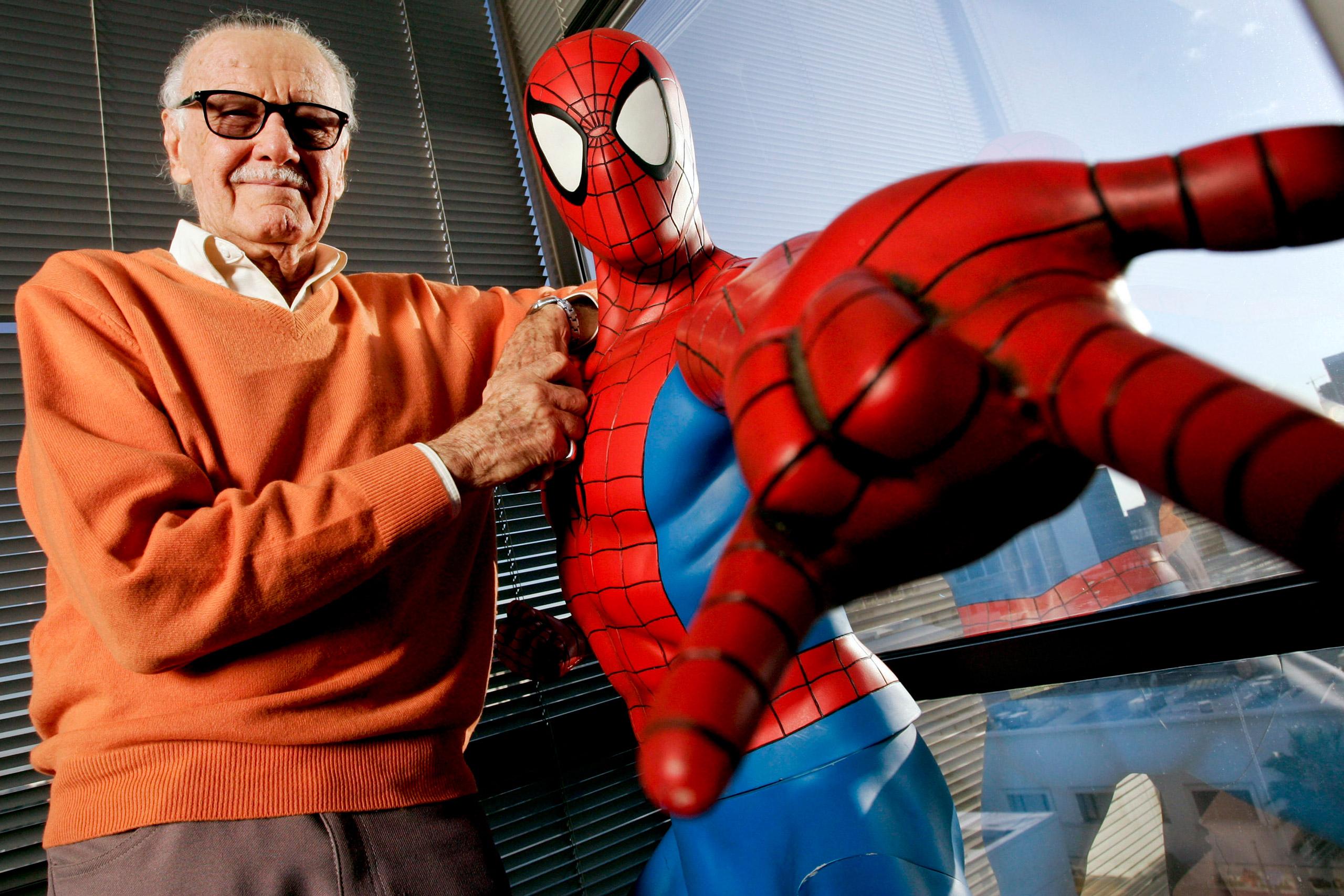 Stan Lee, Spiderman