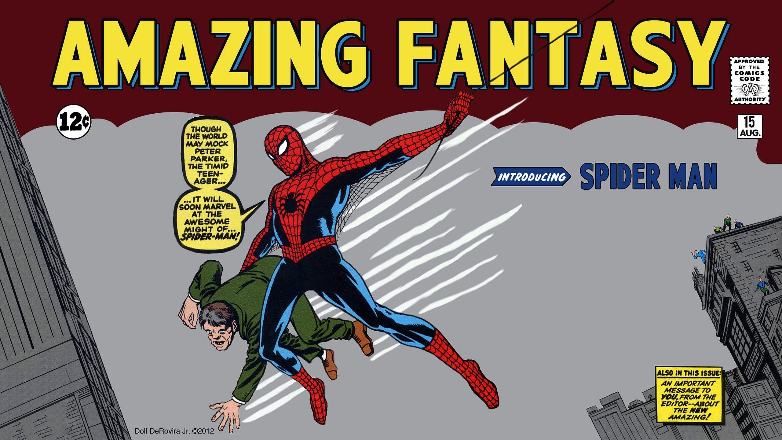 Spiderman, Amzing Fantasy