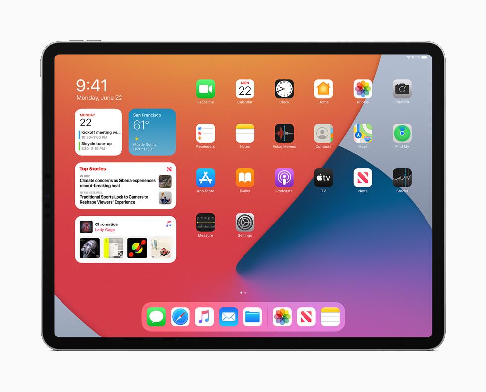 Apple, iPadOS 14 ile Yazılım İyileştirmeleri Sunuyor.