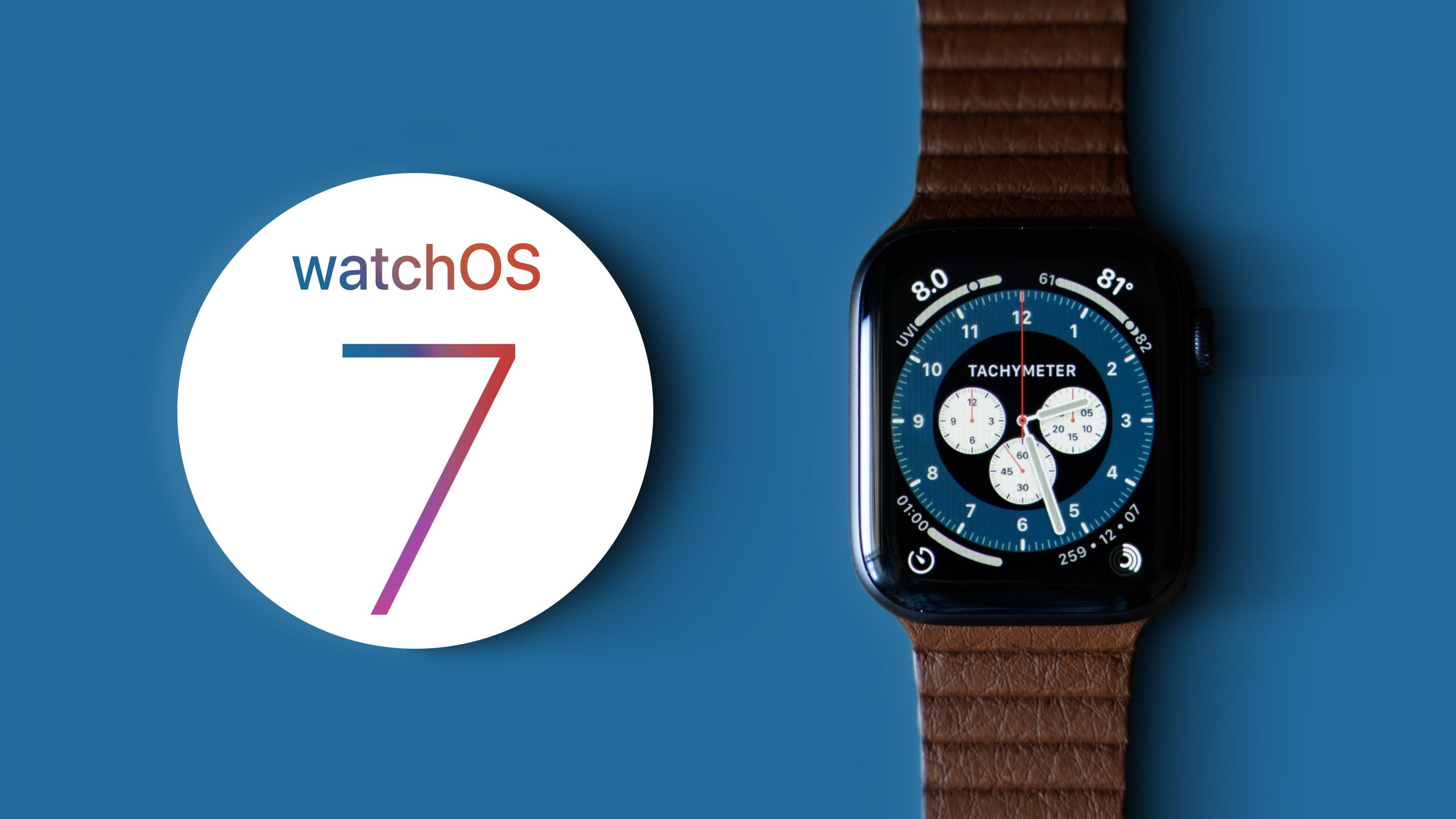 Apple, watchOS 7 Yazılım İyileştirmeleri Sunuyor.