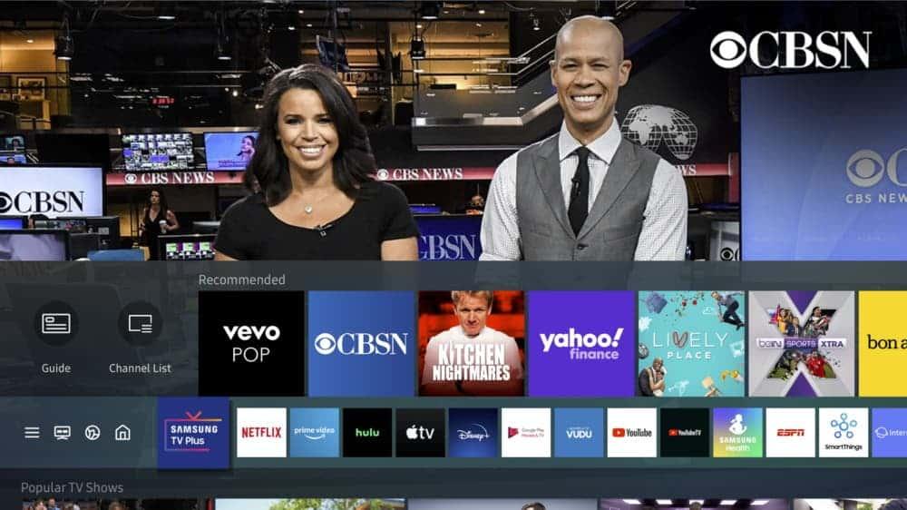 <a href='/samsung/'>Samsung</a> <a href='/tv-plus/'>TV Plus</a> bununan 135 kanal arasında; CBS News, Bloomberg TV +, ET Live, BeINSPORTS XTRA, FOX SOUL, Science TV olacak.