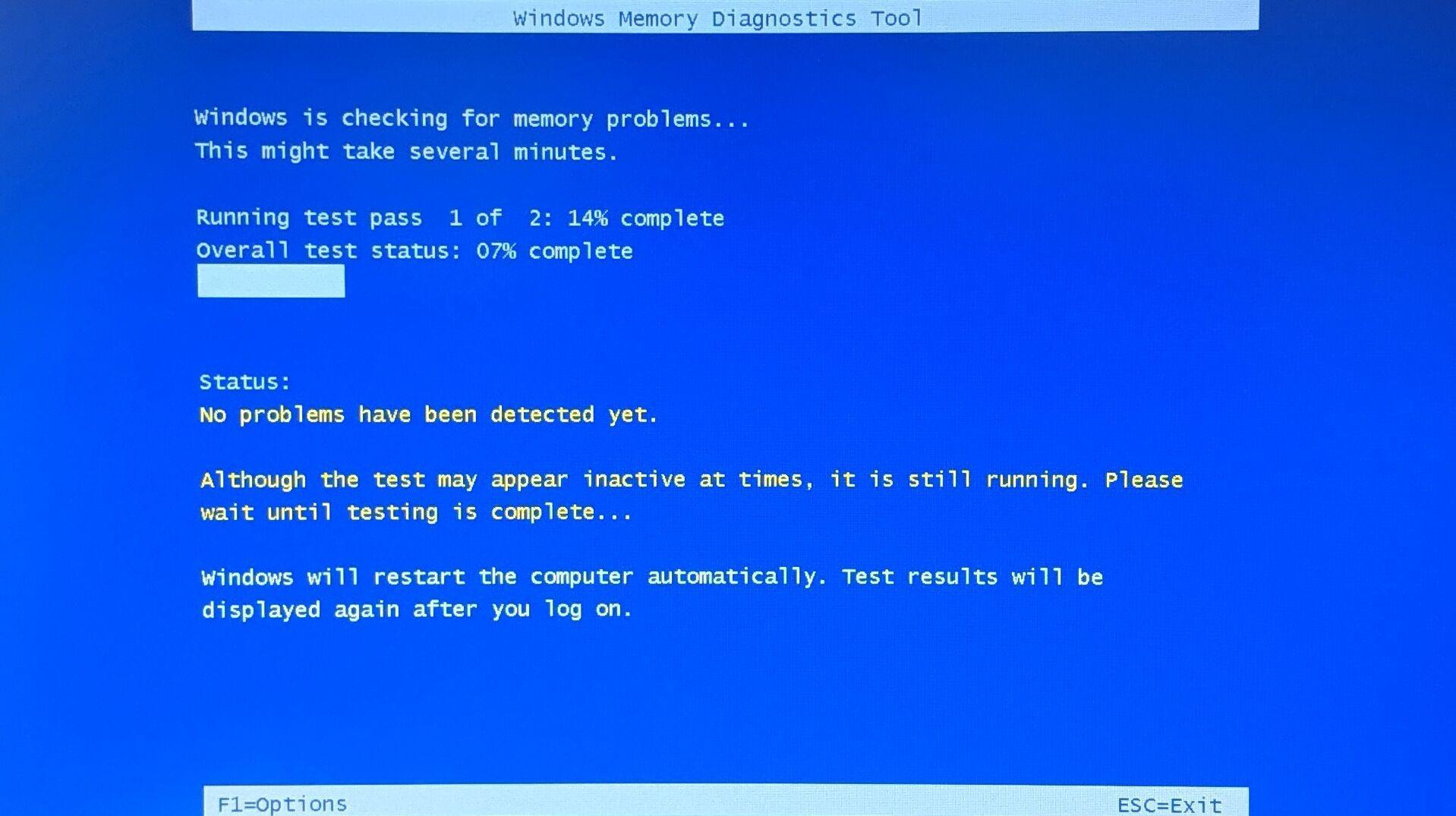 RAM'inizi Test Edin
