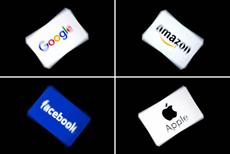Google, Amazon, Apple ve Facebook'un tekel gücüne sahip olduğu açıklandı.