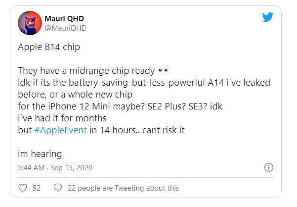 <a href='/iphone-12/'>iPhone 12</a> Mini Performansı, <a href='/apple/'>Apple</a> B14 Yongası Nedeniyle Hayal Kırıklığına Uğrayabilir
