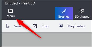 Windows 10'da <a href='/paint-3d/'>Paint 3D</a>