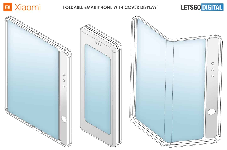 Xiaomi, Galaxy Fold Benzeri <a href='/katlanabilir/'>Katlanabilir</a> Telefon Patenti Aldı