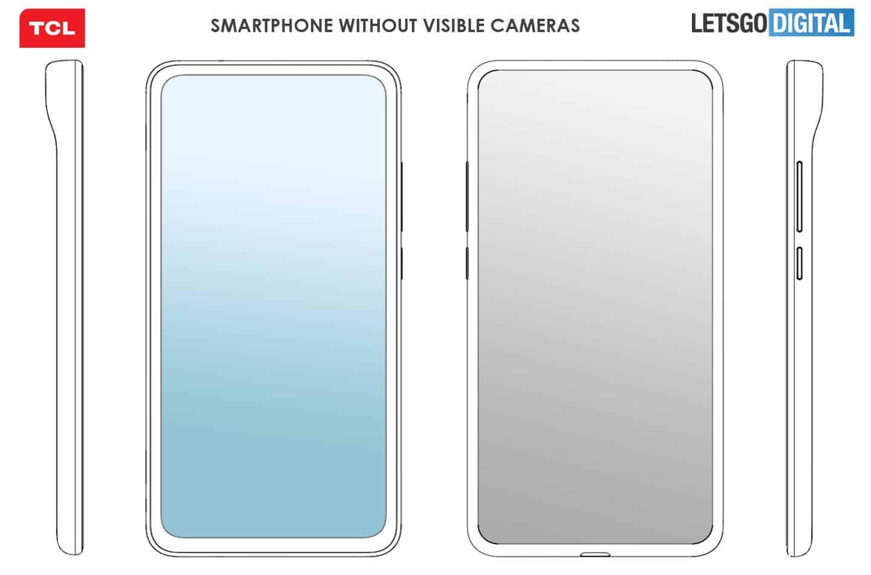 TCL, Görünmez Kameraya Sahip Bir Akıllı Telefon Tasarladığını Bildirdi