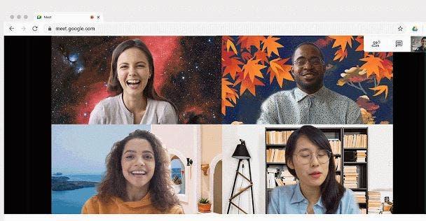 Google Meet, Arka Plan Değiştirme Özelliğini Tüm Kullanıcılara Sundu