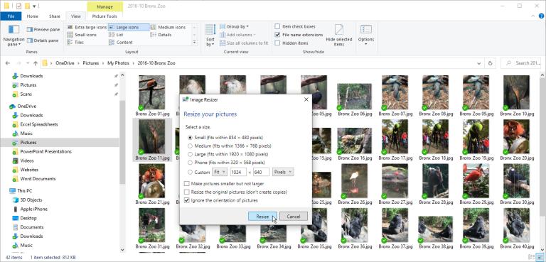 Image Resizer ile Fotoğrafları Kolayca Yeniden Boyutlandırın