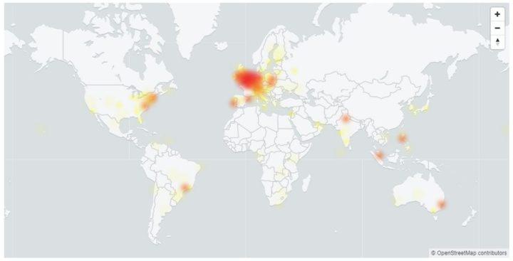 YouTube, <a href='/gmail/'>Gmail</a> ve diğer Google hizmetleri Çöktü