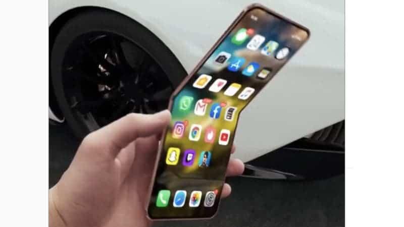 Apple, Katlanabilir Akıllı Telefon Piyasasında Yerini Almak İstiyor