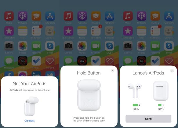 AirPod'ları Yeni Bir iPhone ile Eşleştirme