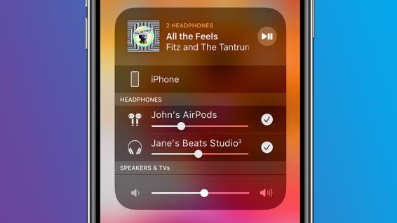 Apple'ın AirPod'larıyla Sesi Paylaşın