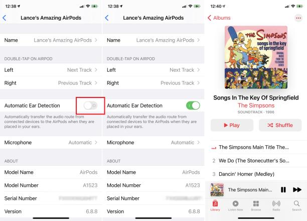 AirPod'larınıza Otomatik Olarak Sesi Aktarın