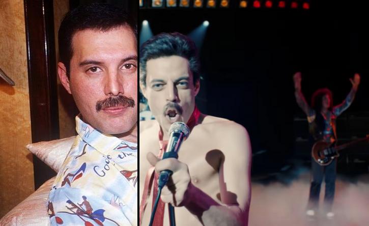 2. Freddie Mercury'nin gözleri mavi değil kahverengiydi.