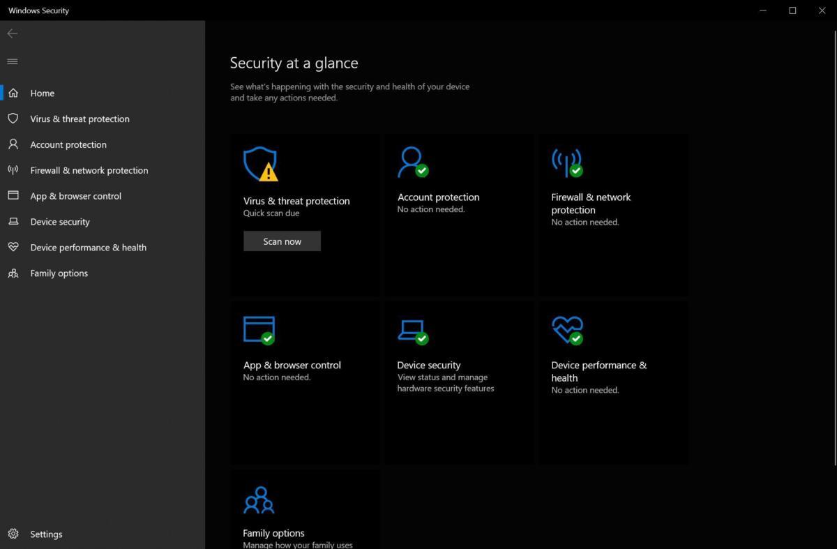 Yeni bilgisayarınızın güvenliğini ayarlayın