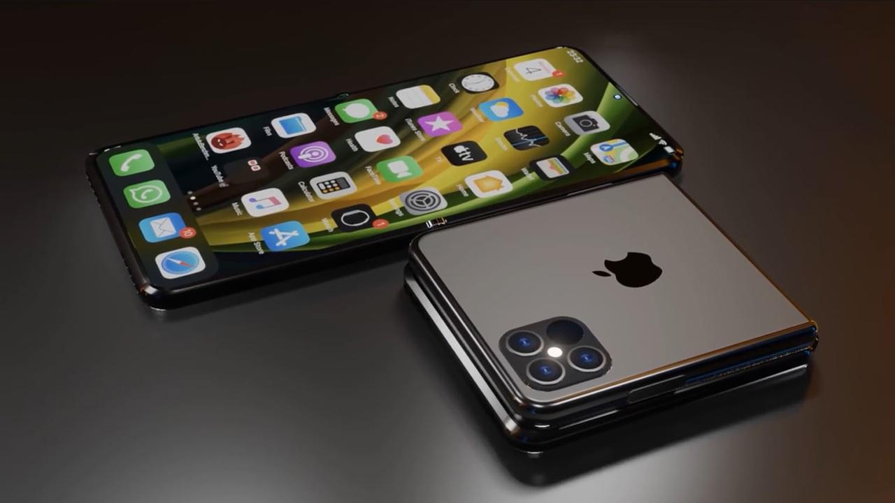 İlk <a href='/katlanabilir/'>Katlanabilir</a> iPhone, İki Yıl İçinde Piyasaya Çıkacak!