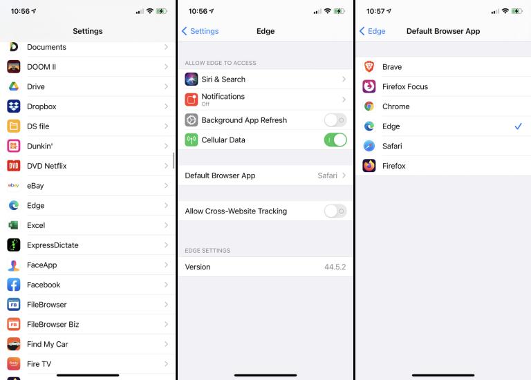 iOS ve iPadOS