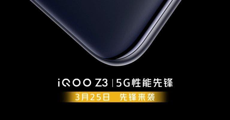 İQOO Z3 Akıllı Telefon, 8GB RAM ve Android 11 Sahip Olacak!