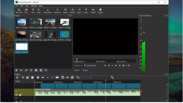 4. Video düzenleme: Shotcut