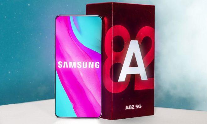Samsung Galaxy A82'nin Tasarımı Ve Özellikleri Günyüzü'ne Çıktı