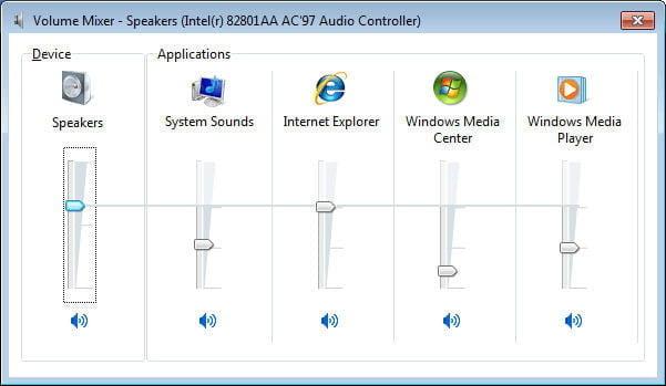 Ses kaydırıcılarını kontrol edin ve sisteminizin tamamen güncellendiğinden emin olun
