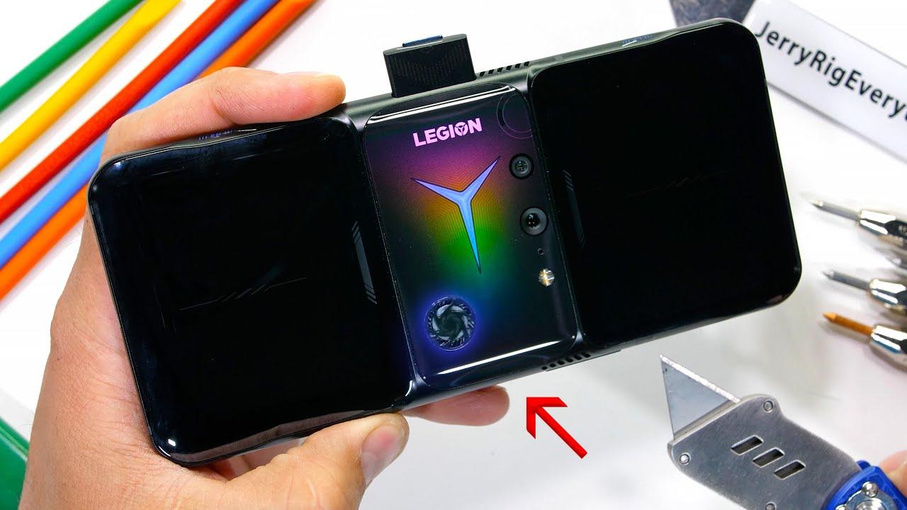 Oyun Telefonu Lenovo Legion 2 Pro Dayanıklılık Testinden Kaldı