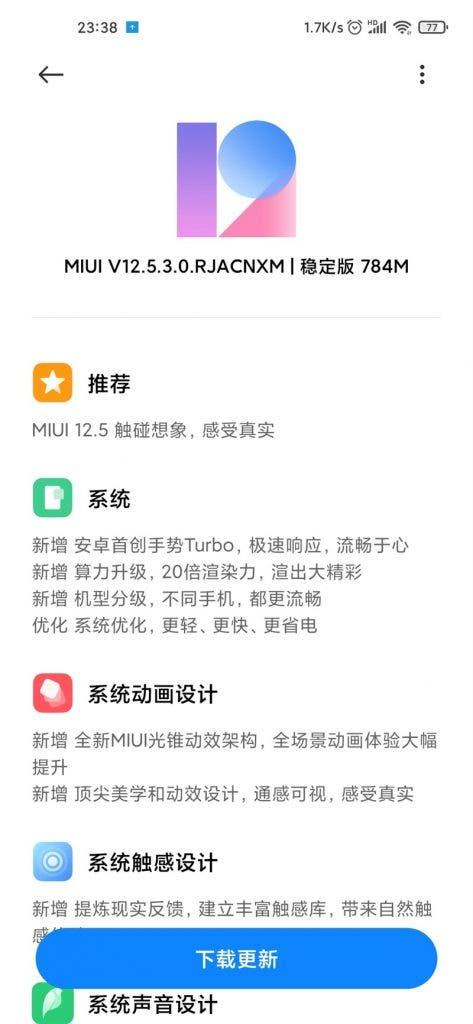 Xiaomi Mi 10 Pro, MIUI 12.5 Kararlı Sürümünü Alıyor