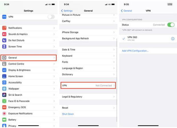 İPhone'da VPN nasıl kurulur: Üçüncü taraf uygulamalar