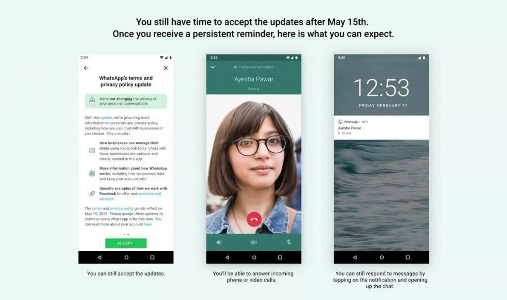 WhatsApp Gizlilik Sözleşmesinin 15 Mayıs'ta Kabul Etmezseniz Ne Olacak?