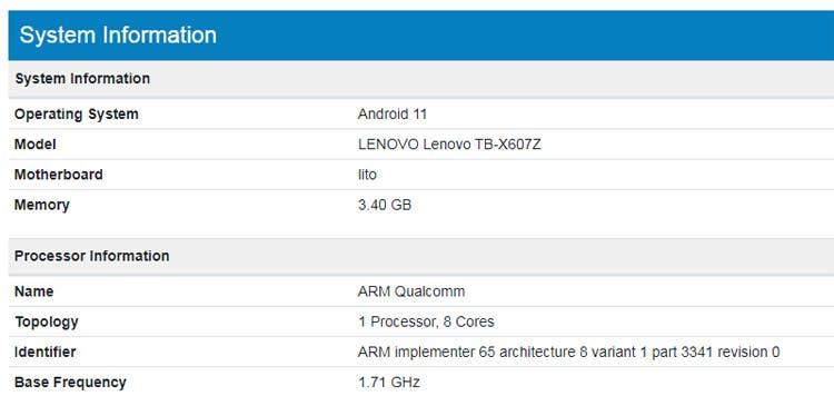 <a href='/lenovo/'>Lenovo</a> 5G Desteğine Sahip Tab M10 Tableti Piyasaya sürecek!
