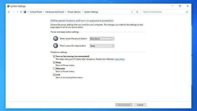 Windows'un Hızlı Başlangıç Modunu Etkinleştirin