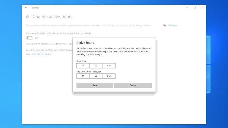 Windows Güncellemelerinin Kapalı Kalma Süresinde Çalışmasına İzin Verin