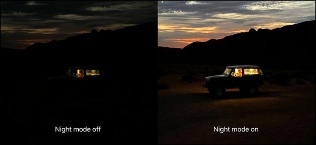 Gece Modu Süreci
